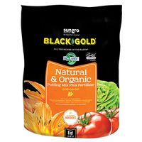 Sun Gro Horticulture 1402040 8. QT P Black Gold Potting Soil, Natural/Organic, 8 Qt