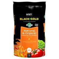 Sun Gro Horticulture 1402040 16. QT P Black Gold Potting Soil, Natural/Organic 16 Qt