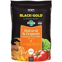 Sun Gro Horticulture 1402040 1 CFL P Black Gold Potting Soil, Natural/Organic, 1 CF