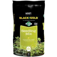 Sun Gro Horticulture 1411002 16 QT P Black Gold Seedling Mix, Organic, 16 Quart