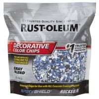 Epoxy Shield Color Chips, Blue & Gray