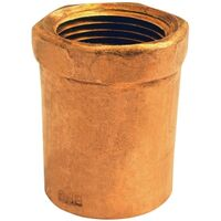 "Wrot Copper Adapter, 1"" x 3/4"""