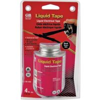 Liquid Electrical Tape, 4 oz Black