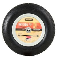 Arnold 20260 Air Filled Center Hubbed Wheelbarrow Tire