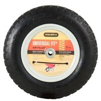 Universal Air-Filled Wheelbarrow Tire, 4 Ply