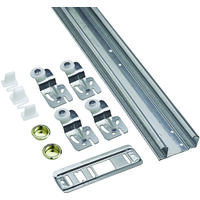 Bypass 2 Door Hardware Set, 60 Lb 48""