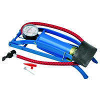 TIRE FOOT PUMP WITH GAUGE