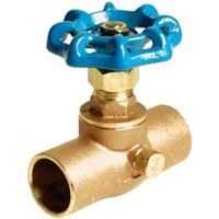 Low Lead Stop & Waste Valve CxC Ends, 3/4""