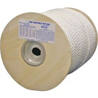 "Twisted Nylon Rope, 5/16"" x 600'"