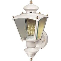 Motion Sensor Coach Light, White
