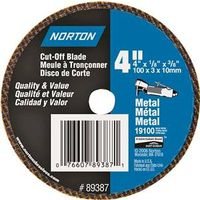 Norton 89387 Type 1 Cut-Off Wheel
