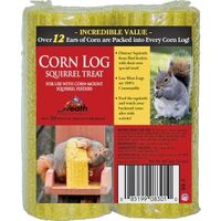 Squirrel Treat Corn Log