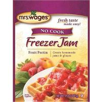 MRS WAGES NO COOK FREEZER JAM FRUIT PECTIN 1.59OZ