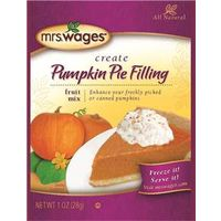 MRS WAGES PUMPKIN PIE FILLING MIX 1OZ