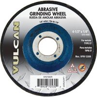 "Abrasive Cut Off Wheel, 4 1/2"" x 1/4"" x 7/8"""