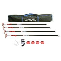 Zipwall ZP4 Zip Pole Kit