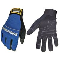 Suede Mechanics Gloves, Medium