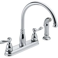KITCHEN FAUCET 2-HNDL SPRY SS