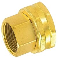 "Hose Connector, 3/4"" x 3/4"" Brass"