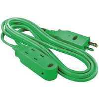 EXTENSION CORD SAFETY GRN 6FT