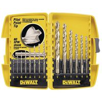 Dewalt DW1169 Pilot Point Bit Set