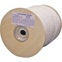 "Twisted Nylon Rope, 3/8"" x 600'"