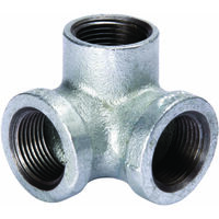 Galvanized Side Outlet Elbow, 3/4""