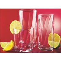 Beverage Glass Set, 18 Pc