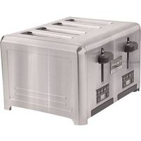 Frigidaire Professional FPTT04D7MS Wide Slots Electric Toaster