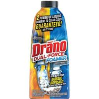 Drano Dual Force 14768 Professional Strength Foamer Clog Remover