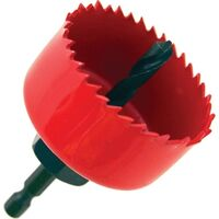 """Hole Saw with Mandrel, 2 1/4"""""""