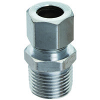 "Low Lead Straight Water Supply Connector, 3/8"" x 3/8"""