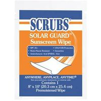 Scrubs Solar Guard 91201 Sunscreen Towel