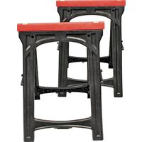 North American Tool 52229 2-Piece Folding Sawhorse