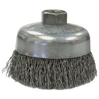 Weiler 36037 Coarse Grade Crimped Wire Cup Brush