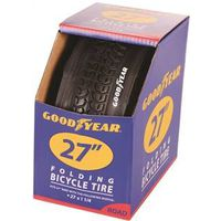 TIRE ROAD 27 X 1-1/4 BLACK