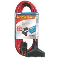 Outdoor Extension Cord with Breaker, 14/3 Gauge 25'