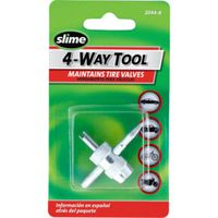 Slime 2044-A 4-Way Tire Valve Tool