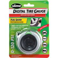 Slime 20187 Digital Tire Gauge With Hose