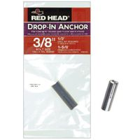 Red Head 50125 Drop-In Anchor