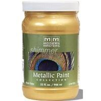 Modern Master Metallic Paint, 1 Qt Pale Gold