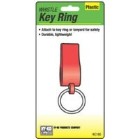 Hy-Ko KC Series Lightweight Whistle Key Ring With Split Ring