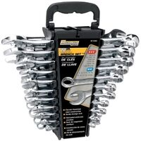 Performance Tool W1069 Combination Wrench Set With Racks