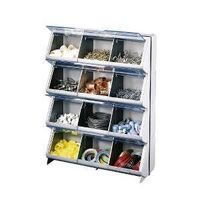 Stack-On CB-12 Lightweight Storage Organizer