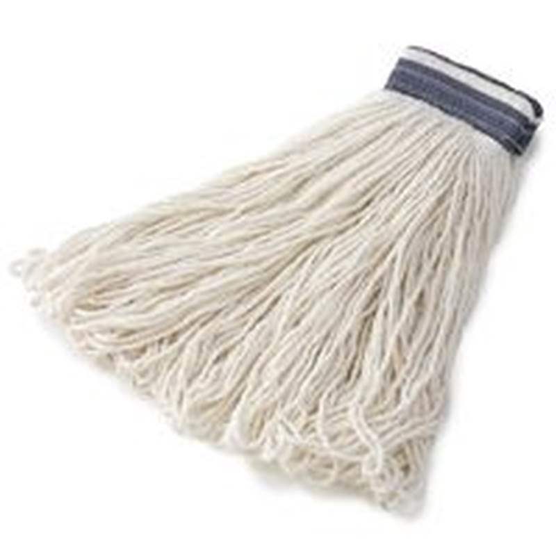 Rubbermaid E43600wh00 Loop End Wet Mop Head For Use With