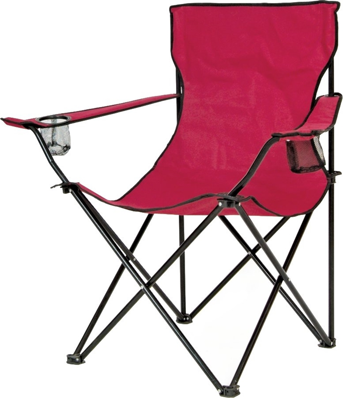 Mintcraft GB-7300 Wide Bucket Chair, Burgundy