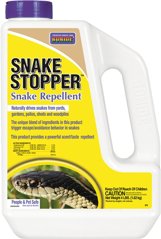 how to use bonide snake stopper