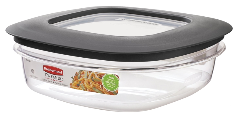 Rubbermaid 1937648 Storage Container With Lid 7 1 In L X