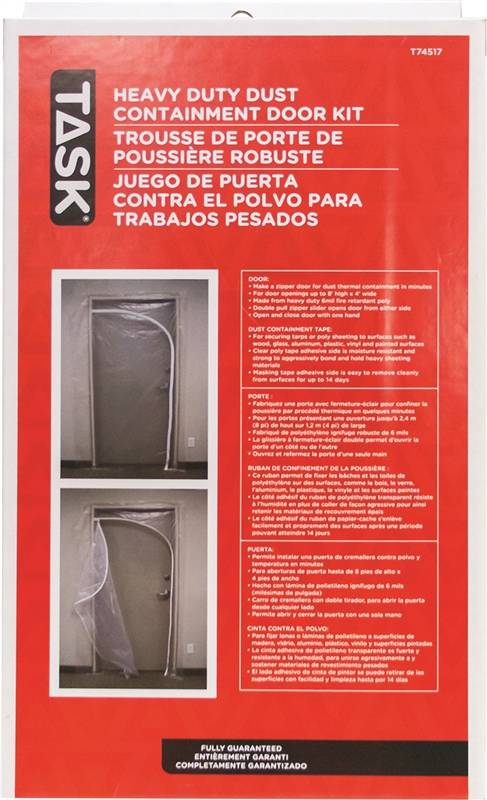 Task T74517 Heavy Duty Dust Containment Door Kit For Use