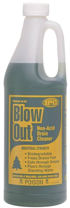 Blow Out 30 475 Non Acid Industrial Strength Drain Opener